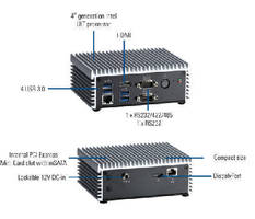 Embedded Box Computer supports 4K2K resolution via HDMI.