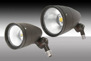 LED Adjustable Wall Packs and Bullet Flood Lights Expand MaxLite Outdoor Lineup