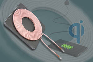 WPC-Compliant Transmitter Coil enhances Qi wireless charging pads.