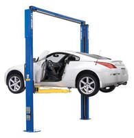 Two-Post Vehicle Lift increases productivity in tight spaces.