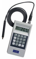 Electroplating Gauge measures plated metals on ferrous substrates.