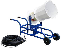 Cart-Mounted Metal Halide Tank Light has explosionproof design.