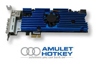 Quad-Video PCoIP Host Card suits small form factor PCs.