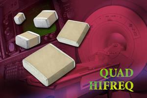 Vishay Intertechnology Enhances QUAD HIFREQ Series MLCCs for Telecom, Medical, Military, and Industrial Equipment