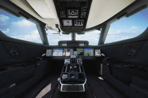 New Honeywell Technologies Including Touchscreens in Cockpit Help Gulfstream's Newest Aircraft Take Flight