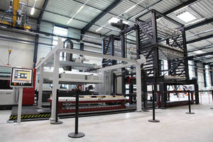 Mitsubishi and STORATEC Automate Process from Warehouse to Cutting Table