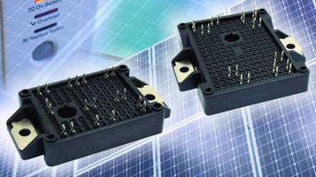 IGBT Power Modules serve solar inverter and UPS applications.