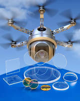 Sapphire Optics withstand UAV hard landings.