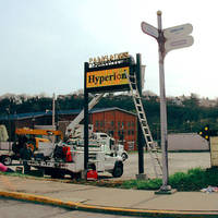 Electro-Matic Products Full Color HyperionPlus LED Display Gets Attention in McKeesport, PA