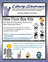 Introducing Flush to Floor Adjustable Boxes