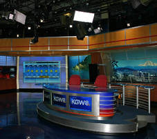 ABS Refreshes KGW News Studio with Updated Lighting Package, Video Wall