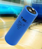 Screw-Terminal Power Aluminum Capacitors feature 10,000 hr life.