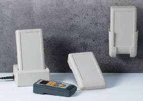 Handheld Enclosures feature integrated charging contacts.