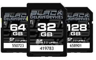 Rugged SD Memory Card resists breakage and water/dust ingress.