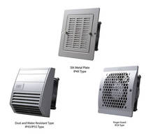 Enclosure Ventilation Systems are designed for simple installation.