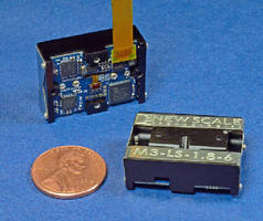 Micro Positioning Stage features embedded drive electronics.