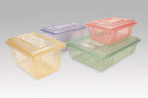 Food Storage Containers help prevent cross-contamination.