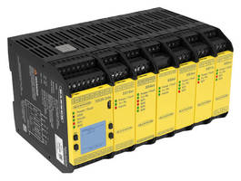 Expandable Safety Controller offers flexibility, intuitive setup.