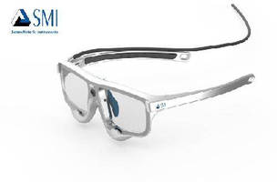 Mobile Eye Tracking Glasses feature slim design.