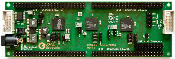 New Generation of Multifunctional Boundary Scan I/O Modules of GOEPEL Electronic Improves Test Coverage