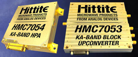 Ka-Band HPA and Block Upconverter serves SatComm applications.