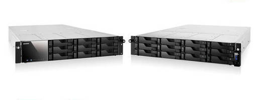 Rackmount Network Storage Servers combine capacity and expansion.