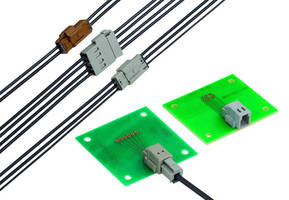Automotive Antenna Connector offers single-step termination.