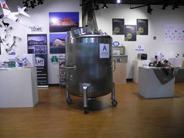 Apache Stainless Custom Tank On-Loan to Madison Area Technical College for Wisconsin Manufacturing Month Display