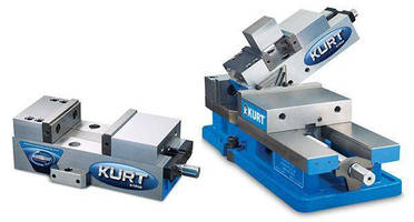 Small Machine Table Vise mounts on all 3 sides.