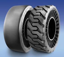 Skid Steer Airless Radial Tires eliminate flats, related downtime.