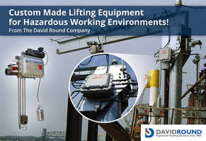 Custom Made Lifting Equipment for Hazardous Working Environments!