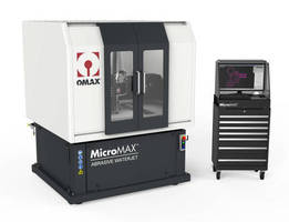 Waterjet Micromachining System offers taper-free cutting.