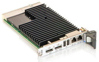 Ruggedized 3U cPCI CPU Board has EN50155-compliant design.
