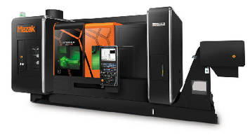 Hybrid Machine combines machining and additive manufacturing.