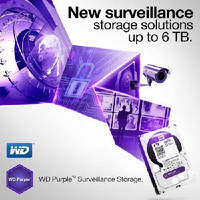 Hard Drives support video surveillance applications.