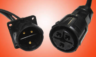 Circular Power Connectors are optimized for field assembly.