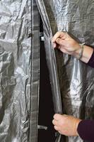 Portable Test Enclosures offer non-radiating door closure system.