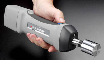 Wireless Bore Gauge extends operation via inductive charger.