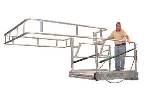Gangways come in custom widths, lengths, and finishes.