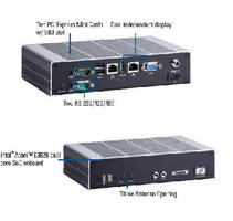 Fanless Embedded Box Computer withstands harsh environments.