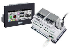HMI+PLC Unit offers extensive analog capability.