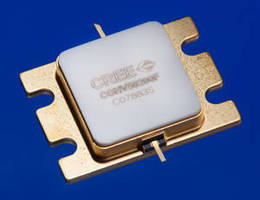 High-Power GaN HEMTs serve C-Band applications.