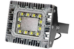 Explosion Proof LED Light Fixture features I-beam mount.