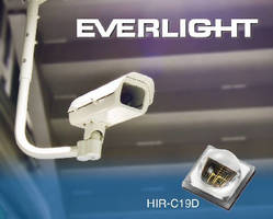 Infrared LED targets CCD cameras and surveillance systems.