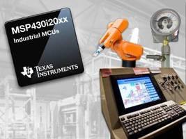 Industrial MCUs incorporate smart analog capacities.