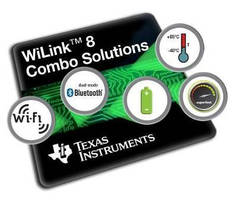 Wi-Fi® and Bluetooth® Combo Modules suit IoT applications.