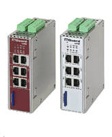 Industrial Routers feature built-in Ethernet switch.