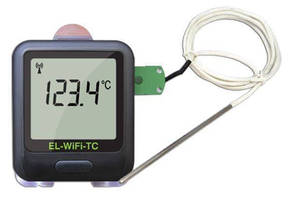 Configurable Thermocouple Dataloggers communicate over Wi-Fi.