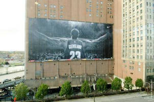 Spider Brings LeBron James Banner Back to Cleveland