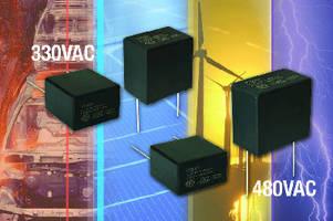 Film Capacitors provide EMI suppression.